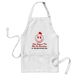 Support War on Christmas Adult Apron