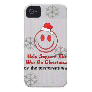 Support War On Christmas iPhone 4 Cases