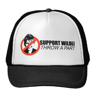 SUPPORT WILDLIFE, THROW A PARTY MESH HATS