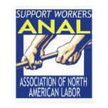 Support Workers Through ANAL Customized Letterhead