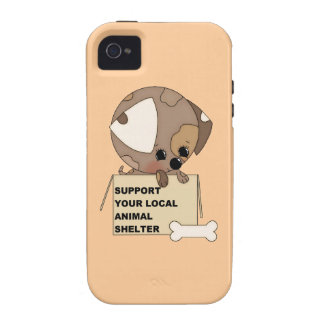 Support Your Animal Shelter Case-Mate iPhone 4 Covers