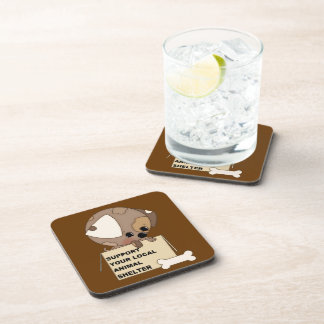 Support Your Animal Shelter Coaster