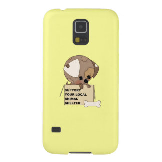 Support Your Animal Shelter Galaxy S5 Covers