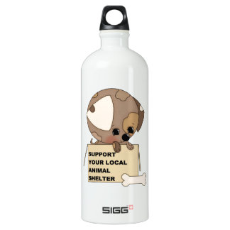 Support Your Animal Shelter Water Bottle