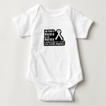 Support Your Dad & Raise Awareness for Lung Cancer Baby Bodysuit