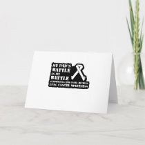 Support Your Dad & Raise Awareness for Lung Cancer Card