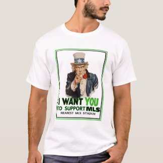 Support Your League Uncle Sam Tee