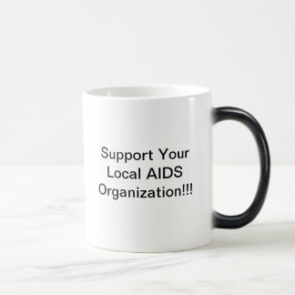 Support Your Local AIDS Organization MUG
