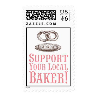 Support Your Local Baker Postage