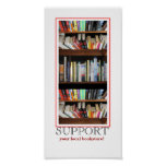 Support your local bookstore print