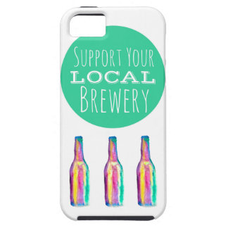 Support Your Local Brewery iPhone 5 5s Case