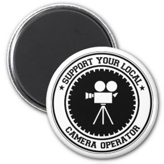 Support Your Local Camera Operator Magnet