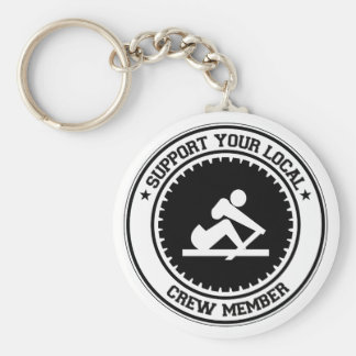 Support Your Local Crew Member Key Chains