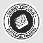Support Your Local Electrical Engineer Sticker