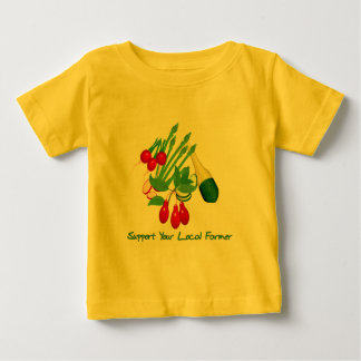 Support Your Local Farmer Baby T-Shirt