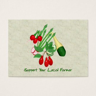 Support Your Local Farmer Business Card