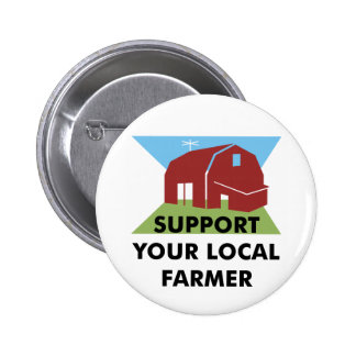 Support Your Local Farmer Buttons
