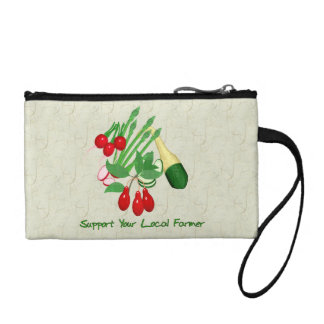 Support Your Local Farmer Change Purse