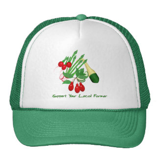 Support Your Local Farmer Trucker Hat