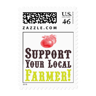 Support Your Local Farmer! Postage