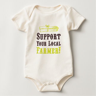 Support Your Local Farmer Romper