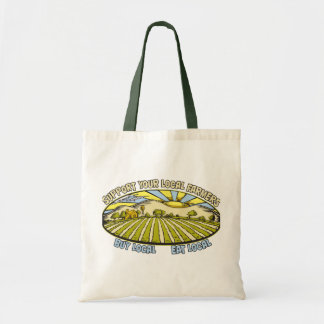 Support Your Local Farmers Canvas Bags
