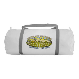 Support Your Local Farmers Gym Duffle Bag
