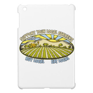 Support Your Local Farmers iPad Mini Cover