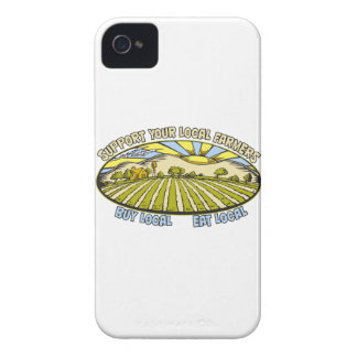 Support Your Local Farmers iPhone 4 Cover