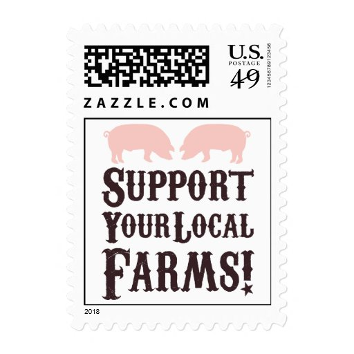 Support Your Local Farms! Postage