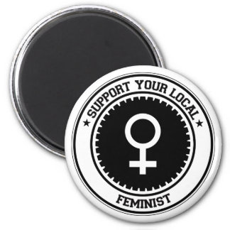 Support Your Local Feminist Magnet