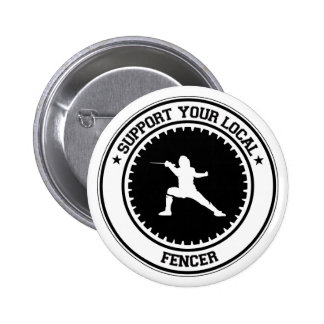 Support Your Local Fencer Buttons