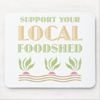 Support Your Local Foodshed Mouse Mats