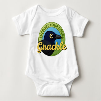 Support Your Local Grackle Baby Bodysuit