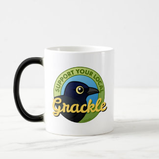 Support Your Local Grackle Magic Mug