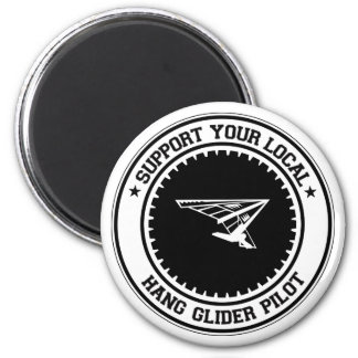 Support Your Local Hang Glider Pilot Magnet