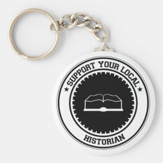 Support Your Local Historian Keychain