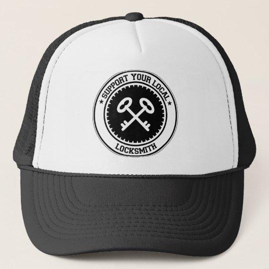 Support Your Local Locksmith Trucker Hat