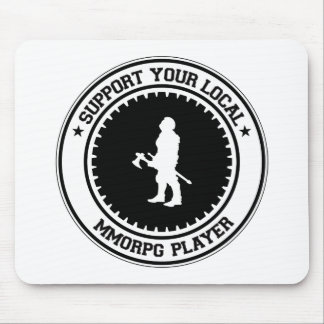 Support Your Local MMORPG Player Mouse Pads