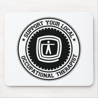 Support Your Local Occupational Therapist Mouse Mat