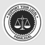 Support Your Local Paralegal Sticker