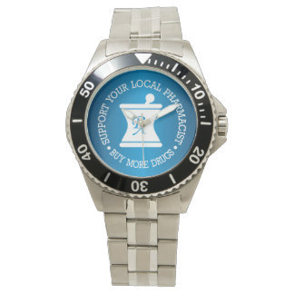 Support Your Local Pharmacist Watch