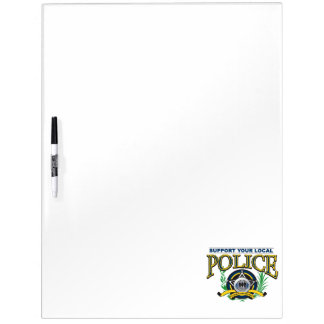 Support Your Local Police Dry-Erase Whiteboards