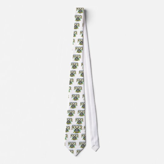Support Your Local Police Neck Tie