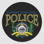 Support Your Local Police Stickers