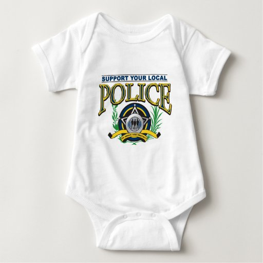 Support Your Local Police Tee Shirt