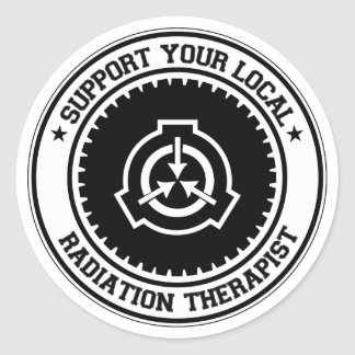 Support Your Local Radiation Therapist Stickers