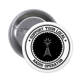 Support Your Local Radio Operator Button