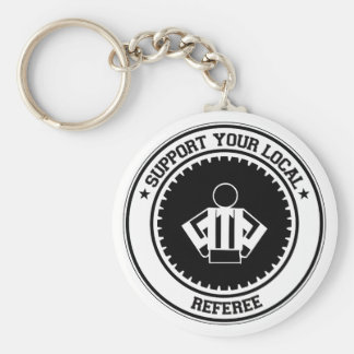 Support Your Local Referee Keychain