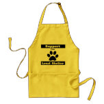 Support Your Local Shelter Adult Apron